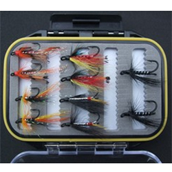 Turrall Fly Pod Double Salmon Selection - FPOD08