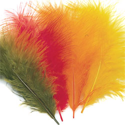 Veniard Turkey Marabou Feathers