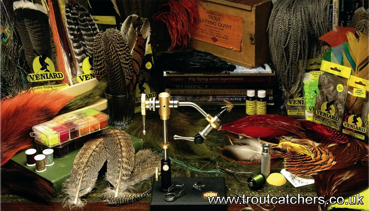 find all fly tying materials | troutcatchers, Fly Fishing Bait