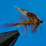 Invicta Red Tail Wet Trout Fishing Fly #12 (W146)