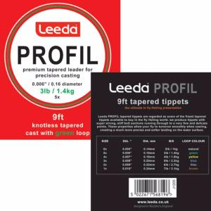 Leeda Profil Casts - Dry Tapered Tippets