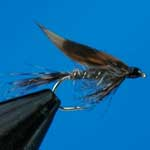 March Brown Wet Trout Fishing Fly #12 (W180)