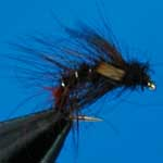 Snatcher Black And Red Jc Wet Trout Fishing Fly #12 (W216)