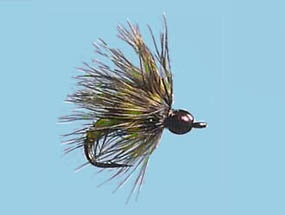 Turrall Tungsten Bead Head Soft Hackle Caddis - TB11