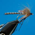 Daddy Detached CDC Dry Trout Fishing Fly #10 (D7)