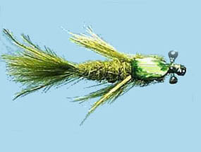 Turrall Damsel Nymphs Premium Nymph Olive - Pn01
