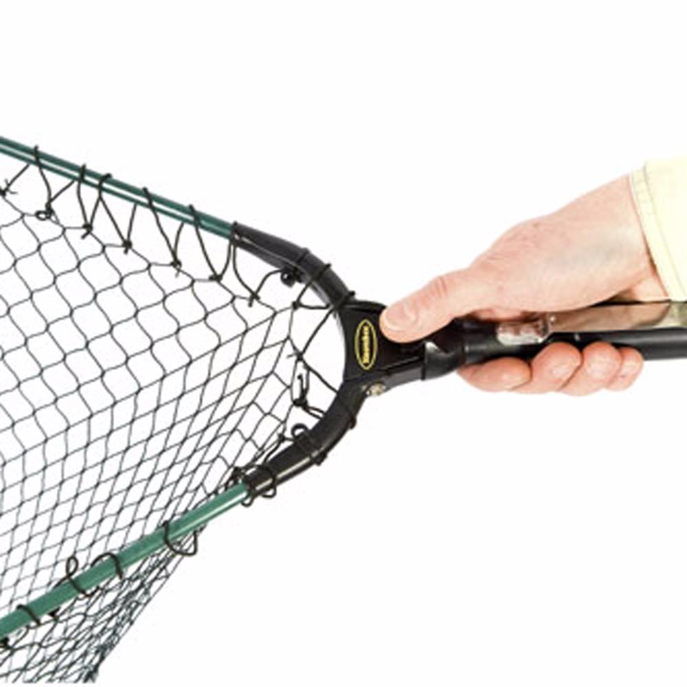 Snowbee telescopic folding landing net 79 15200 for Collapsible fishing net