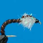 Pheasant Tail Coves Pearl Fritz Nymphs Trout Fishing Fly #10 (Fr32)