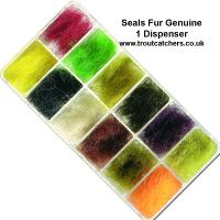 Seals Fur Genuine - 1 or 2 Dispenser