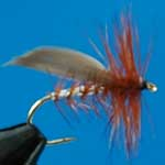Silver Sedge Dry Trout Fishing Fly #12 (D343)