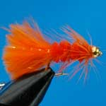 Tadpole Orange G.H.Nymph S/S Trout Fishing Fly