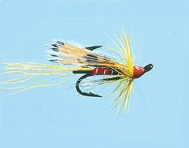 Turrall Treble Salmon Ally's Shrimp Yellow - Ts02