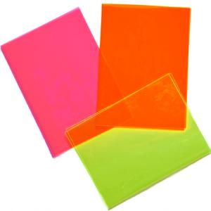 Edge Bright Fluorescent Sheet
