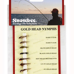 Snowbee Gold Head Nymph Fly Selection - SF105