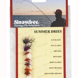 Snowbee Summer Dry Fly Selection - SF117