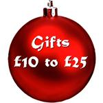 Stocking Filling Gifts £10 to £25