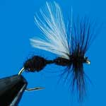Black Ant Dry Trout Fishing Fly