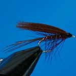Dabbler Claret Wet Trout Fishing Fly #12 (W75)