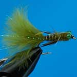 Damsel Epoxy Nymph Trout Fishing Fly