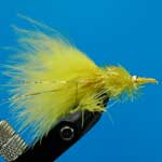 Nomad Fritz Yellow Fritz Gh L/S Trout Fishing Fly #10 (Fr14)