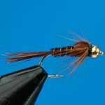 Pheasant Tail G.H.Nymph S/S Trout Fishing Fly #12 (N453)