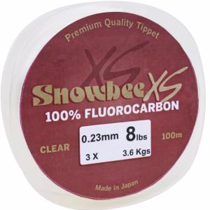 Snowbee XS Fluorocarbon Line - Clear