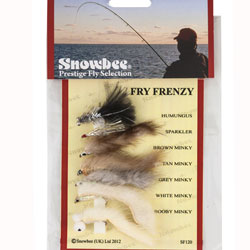 Snowbee Fry Frenzy Fly Selection - SF120