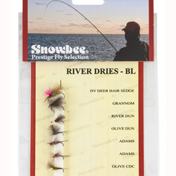 Snowbee River Dry Barbless Fly Selection - SF203