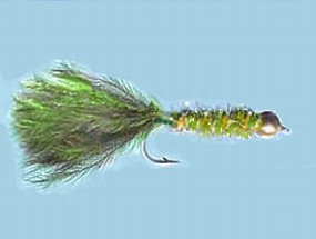 Turrall Damsel Nymphs Bead Head Olive - Bh34