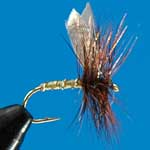 Greenwells Glory (Wing) Dry Trout Fishing Fly
