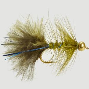 Turrall Bead / Gold Head Blue Ray Damsel - Bh45