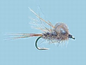 Turrall CDC Emerger - Hare's Ear - Cu20