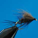 Hopper Bibio CDC Dry Trout Fishing Fly