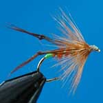 Hoppers Orange Special Dry Trout Fishing Fly