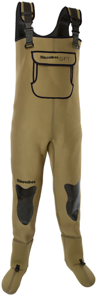 Snowbee Granite Neoprene Stockingfoot Chest Waders - 12085