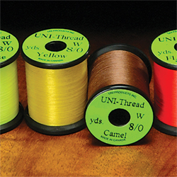 8/0 Uni Super Midge PreWaxed Thread - 200 Yards - Mixed Box 20 Colours