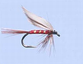 Turrall Wet Winged Red Spinner - Ww44