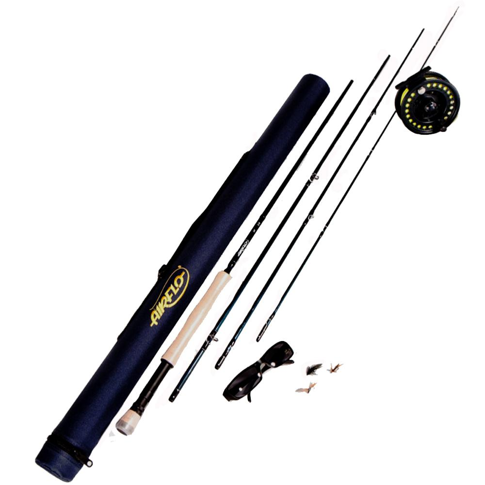 Airflo combo fly fishing kit 9ft 6 7 for Fly fishing tying kit