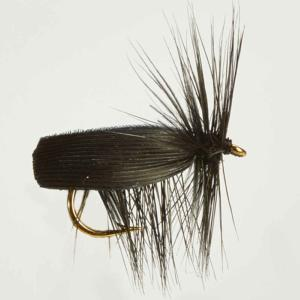 Turrall Caddis /Sedge - Black Caddis - Ca01