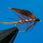 Invicta Silver Wet Trout Fishing Fly #12 (W148)