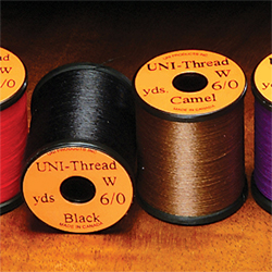 6/0 Uni Pre Waxed Thread - 50 Yards - Mixed Box 20 Colours