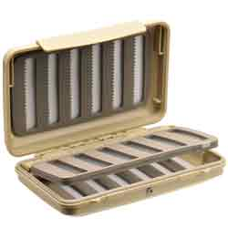Richard Wheatley Water-Tite Easy Slot Swingleaf Fly Box - 9654