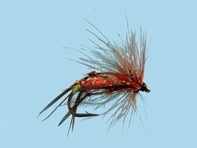 Turrall CDC Hopper Hot Orange - Cu30