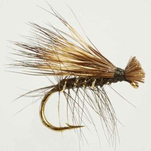 Turrall Caddis /Sedge - Elk Hair Tan - Ca11