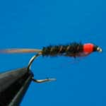 Diawl Bach Red Neck Nymph Trout Fishing Fly #10 (N101)