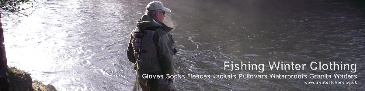 Fishing Winter Clothing - Extend your Fishing Season with troutcatchers.
