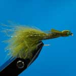Glass Eyed Damsel Ls Nymphs Trout Fishing Fly #10 (N505)