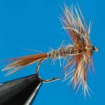 March Brown Dry Trout Fishing Fly #10 (D285)