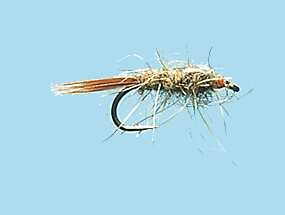 Turrall hare 39 s ear slim line nymph sl05 for Slime line fishing line