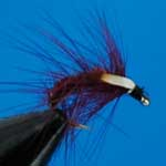 Snatcher Claret Jc Wet Trout Fishing Fly #12 (W223)